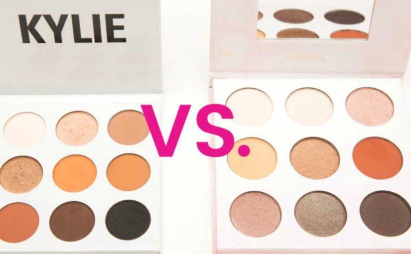 cosméticos clon vs cosméticos originales paletas de maquillaje