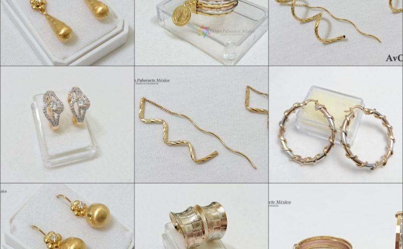 venta de joyeria de acero inoxidable al mayoreo collage de aretes pulseras brazaletes de acero inoxidable